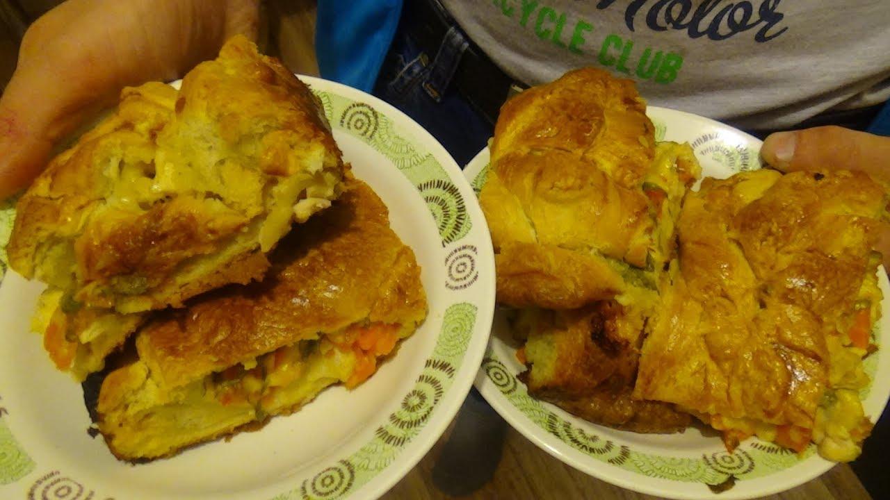 Праздничный пирог с курицей в духовке. Диетическое и вкусное блюдо для всей семьи
