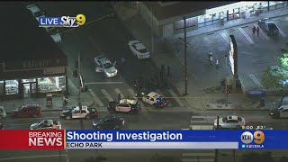 2 Injured In Echo Park Shooting, Police Investigating