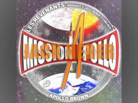 Les Revenants x Apollo Brown - Journée De Taffes - Mission Apollo