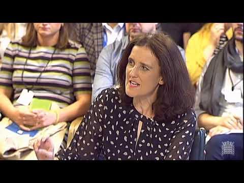 Environment Secretary Theresa Villiers on post-Brexit environmental regulation