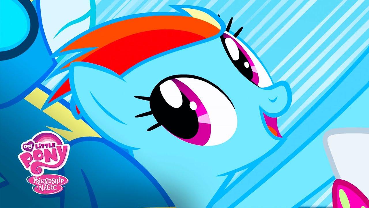 my little pony friendship is magic rainbow dash sonic