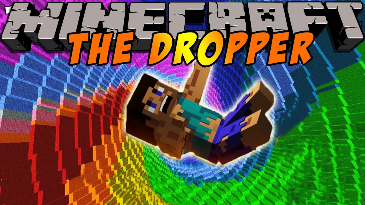 . minecraft videos  adventure map  the dropper  episode   youtube