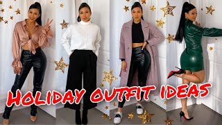 HOLIDAY OUTFIT IDEAS 2020 | 5 OUTFITS I'D WEAR, CASUAL & DRESSY