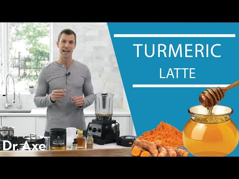 Warming Golden Milk Latte Recipe with Dr Josh Axe