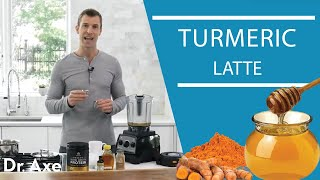 Warming Golden Milk Latte Recipe with Dr. Josh Axe