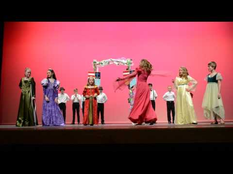 Rimrock Elementary School Drama Club ~The Little Mermaid Jr. (the scene that was left out)