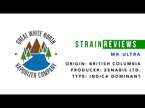 Canadian Legal Cannabis Strain Review   MK Ultra   Zenabis   Great White North Vaporizer Co.