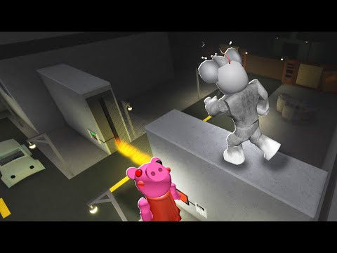 FLYING GLITCH in ROBLOX PIGGY (Chapter 9)