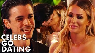 Sam Craske And Olivia Attwood Break The Agency Rules And Have Their First Kiss! | Celebs Go Dating