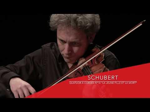 Schubert, String Quartet 'Death and the Maiden' by Les Dissonances Quartet