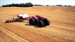 Case IH Displays Prototype For Autonomous Tractor