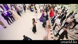 Флешмоб на свадьбе в Астане. Creative video studio