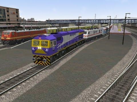 msts indian railways delhi-calcutta trunk route