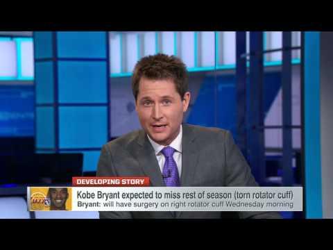 Kobe To Have Surgery On Torn Rotator Cuff