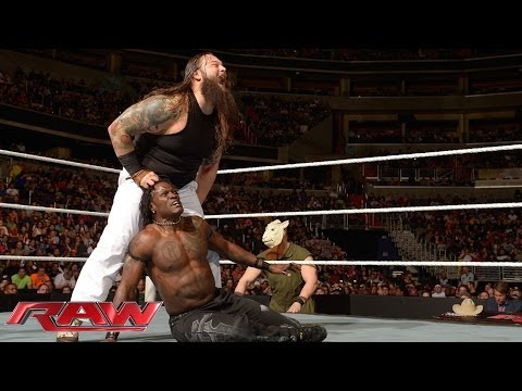 R-Truth vs. Bray Wyatt: Raw, March 31, 2014