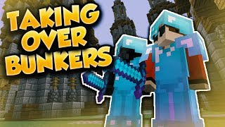 MEEZOID AND PAINFULPVP TAKE OVER ARCANE BUNKERS!! (Minecraft PvP)