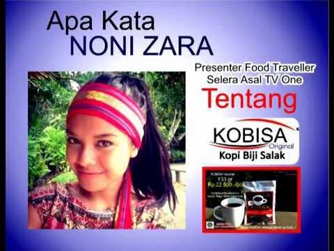 Apa Kata Noni Zara Presenter Selera Asal TV One Tentang KOBISA Kopi Biji Salak Pangu