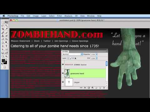 04-Buttons, Menus, And Animation - Photoshop To HTML Websites With SG3