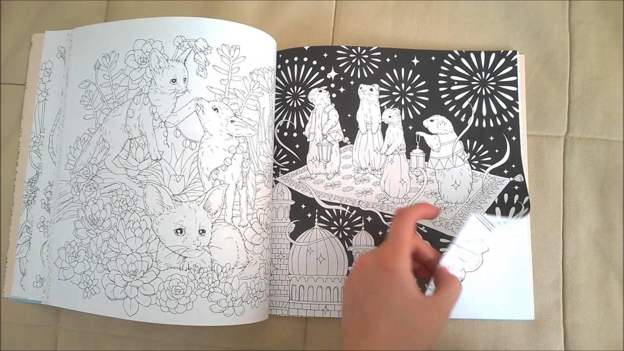 Menuet De Bonheur Coloring Book Flip Through Youtube Coloring Books Color Bonheur
