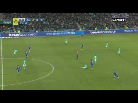 Lyon - St Etienne 2 cartons rouges en 5 min !