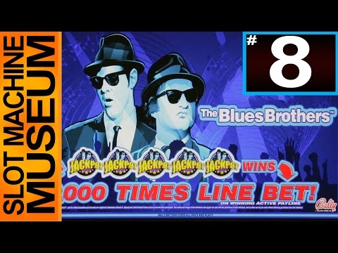 THE BLUES BROTHERS (Bally) - [Slot Museum] ~ Slot Machine Review