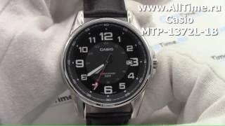Обзор. Мужские наручные часы Casio MTP-1372L-1B