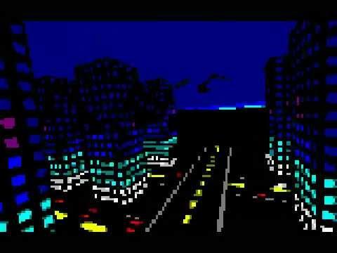 Night Flight (64k Text Mode Demo)