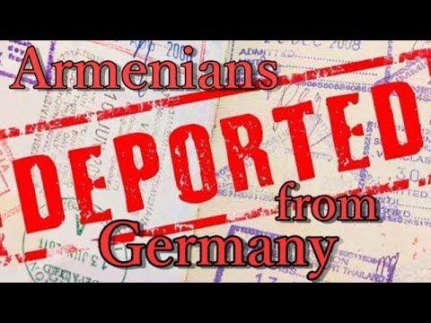 Из Германии депортировали очередную партию армянских мигрантов