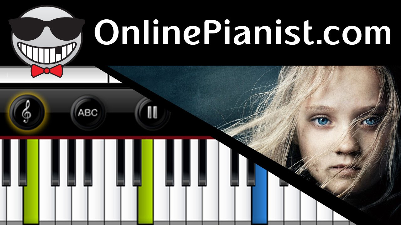Les Miserables - Stars - Piano Tutorial & Sheets (Easy & Advanced) - How to  play