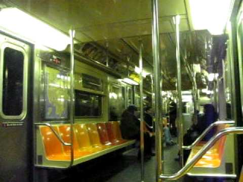 ride a R62 3 from Borough Hall to Hoyt Street-Fulton Mall
