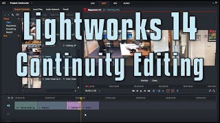 Lightworks 14 - Continuity Editing