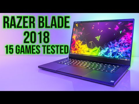 Razer Blade 2018 Gaming Benchmarks - 15 Games Tested!