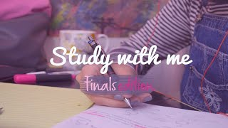 Study with me finals edition ☕ calming studying music ~ organic chem | Reem