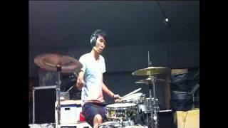 Matt Raham drum cover - monoloque - jika aku seorang robot