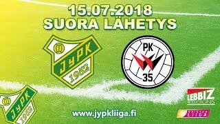 15.07.2018 JyPK - PK-35 Vantaa klo 15.00 Naisten Liiga