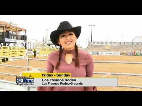DAYTIME AT NINE: 2018 PRCA Los Fresnos Rodeo w/ TV Host Danielle Banda