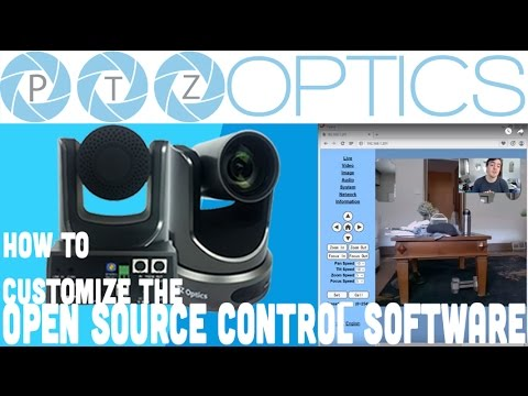 How to Customize PTZOptics Open Source Control Software