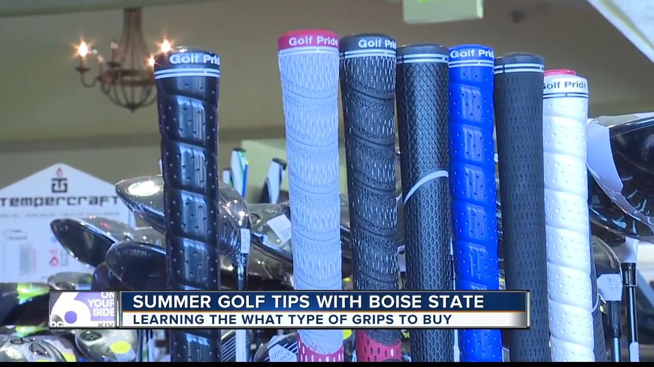 Summer Golf Tip 3 Grips With Broncos Dan Potter