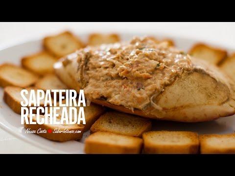 Receita de Sapateira Recheada thumbnail
