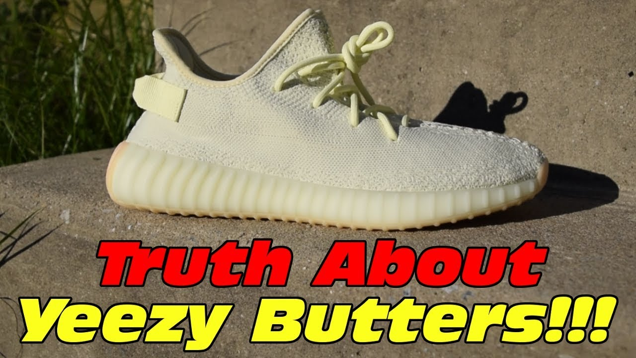 Truth About Yeezy 350 V2 Butter Does