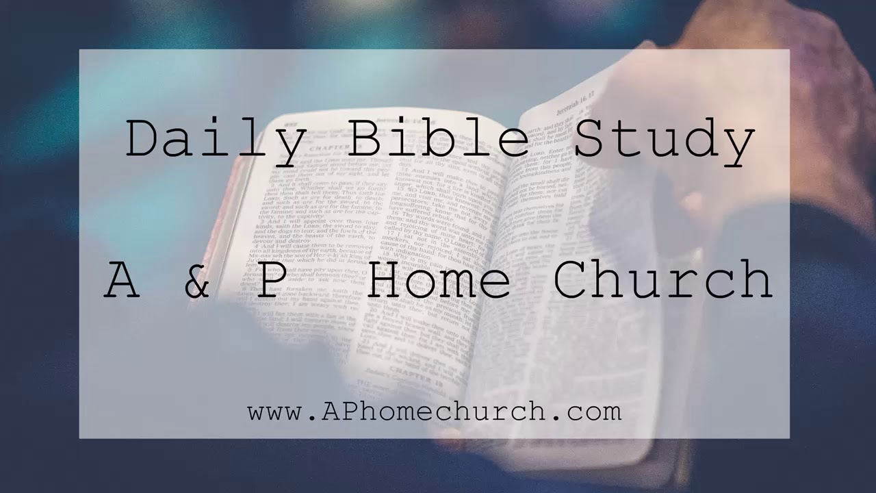 Daily Study   Hebrews 4-6
