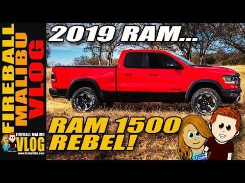 Fireball Truck Sales >> 2019 Ram 1500 Rebel Up Close Fireball Malibu Vlog 776