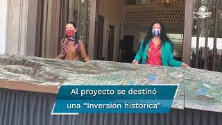 El proyecto que encabeza el artista Gabriel Orozco tiene este año recursos asignados por mil 100 millones de pesos para obras de interconexión y restauración ambiental y cultural