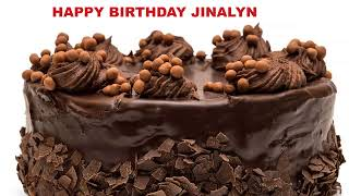 Jinalyn  Cakes Pasteles - Happy Birthday