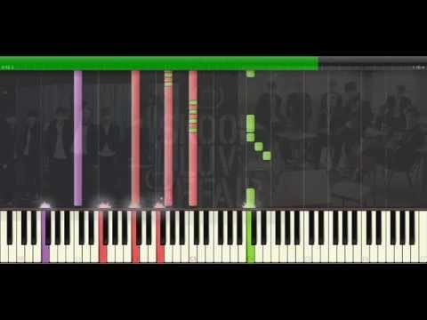 BTS(방탄소년단) _ Boy In Luv (Piano Tutorial) [MIDI]