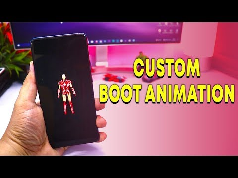 Custom Boot Animation for ANDROID