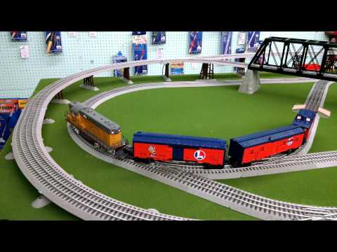 5'x9' Lionel Train Layout by Hobbymasters