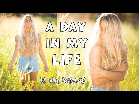 A DAY IN MY LIFE: At My Own Retreat! ♡