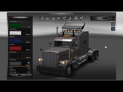 pack de camiones americanos para euro truck simulator 2 + review
