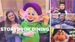 DINING REVIEW: Storybook Dining at Artist Point   Disney's Wilderness Lodge
